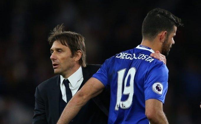 Diego Costa, Antonio Conte'yi sildi!