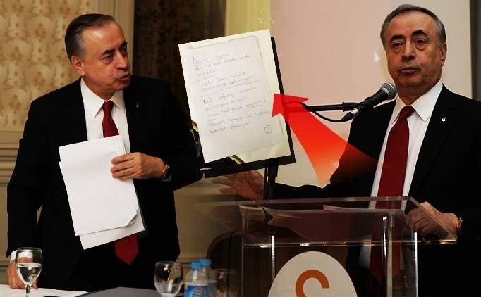 Mustafa Cengiz'in notlarındaki 'sert sözleri' masada kaldı!