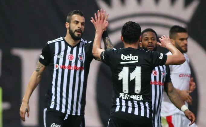 Beşiktaş, hazırlık maçında Pektemek ve Negredo ile güldü!