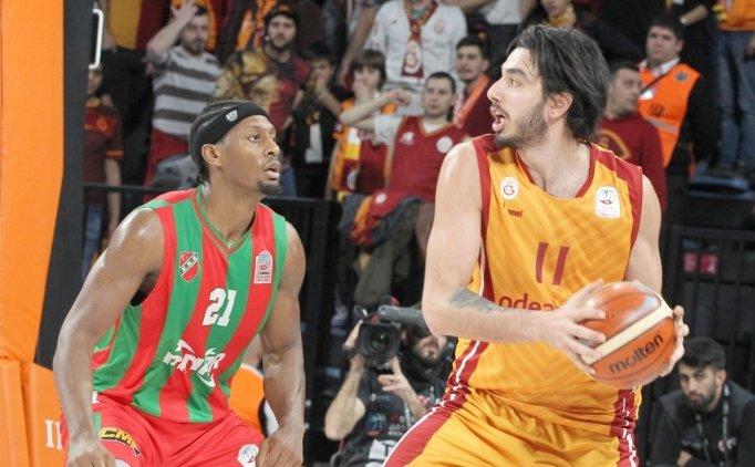 Galatasaray Odeabank'tan 16 sayılık fark