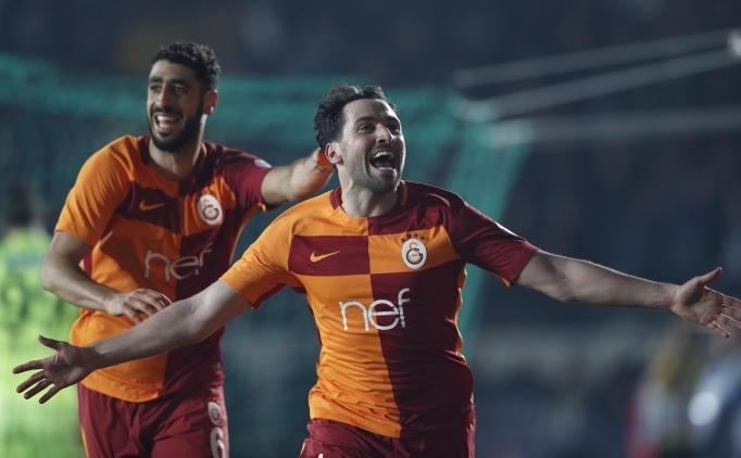 Galatasaray'da 'Kupa golcüsü' sahnede