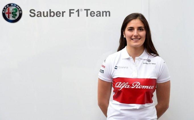 Sauber takımına kadın test pilotu