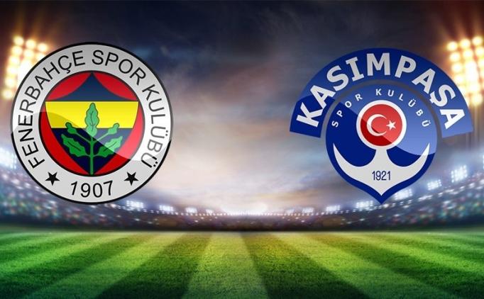 ÖZETLER Fenerbahçe Kasımpaşa maçı detayları
