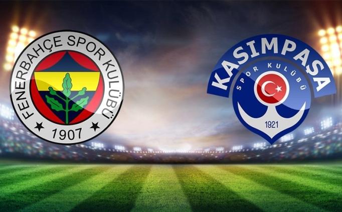 MAÇ ÖZETİ Fenerbahçe Kasımpaşa maçı