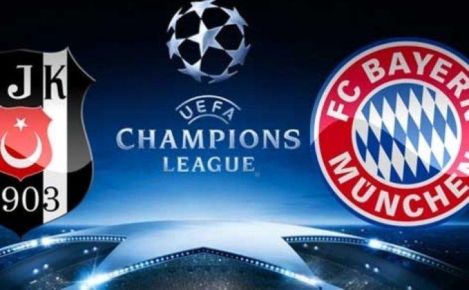 Beşiktaş'ın Bayern Münih ilk maçı ne zaman nerede? Beşiktaş Bayern münih biletleri kaç para?