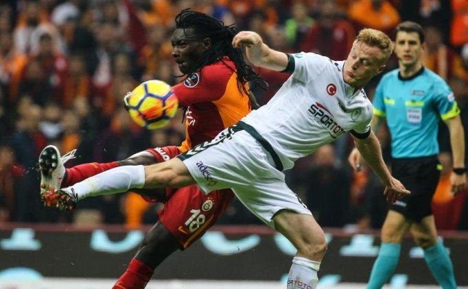 Galatasaray Konyaspor maçı geniş özeti, golleri, pozisyonları
