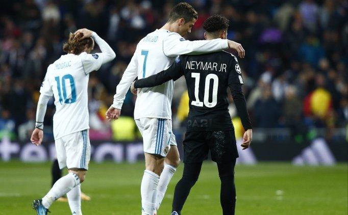Neymar'dan PSG'ye Real Madrid resti