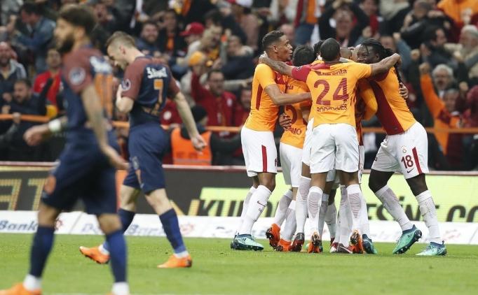 ÖZET Galatasaray (GS) Başakşehir maçı golleri izle, Galatasaray maçı skoru