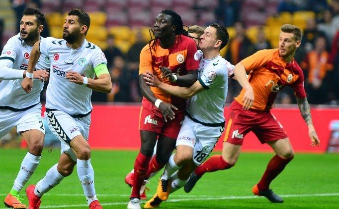 Galatasaray'da 2 eksik, 3 yıldız sınırda