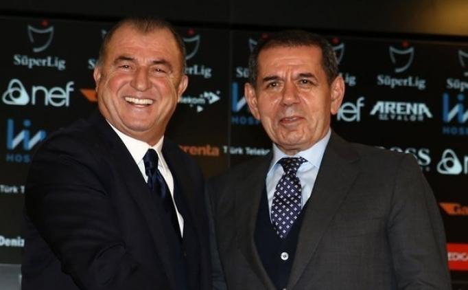 'Dursun Özbek ile Fatih Terim 4 dakika görüştü...'