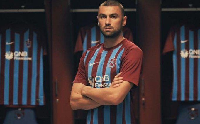 Trabzonspor'da Burak Yılmaz'dan rakiplere gönderme