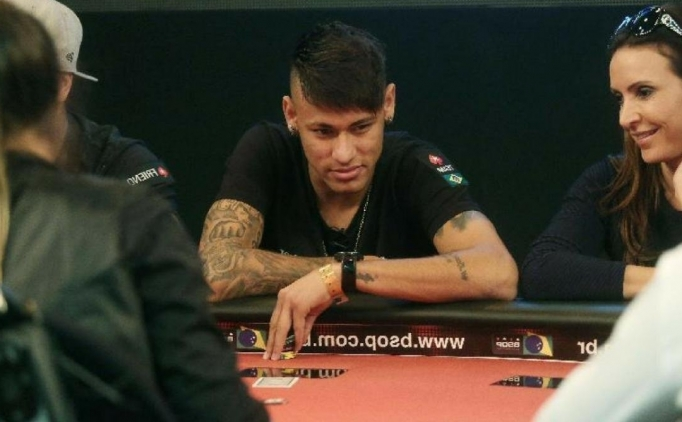 Neymar'ın şaşırtan poker masası paylaşımı!