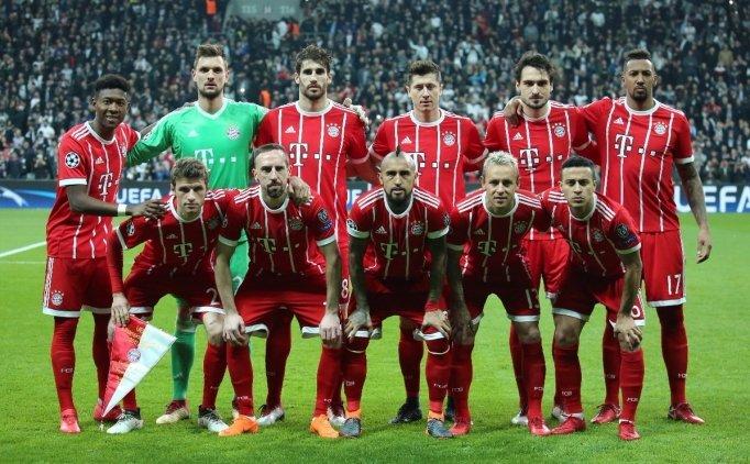 Bayern Münih'ten Vodafone Park mesajı!