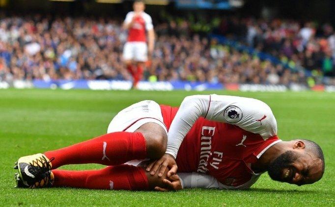 Arsenal'de Alexandre Lacazette şoku!