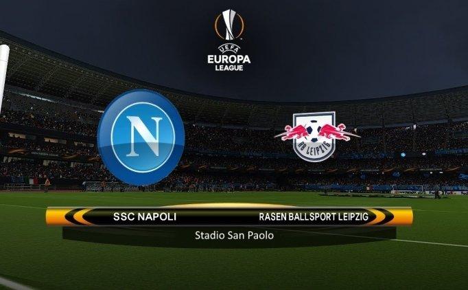 Napoli Leipzig maçı canlı hangi kanalda saat kaçta?