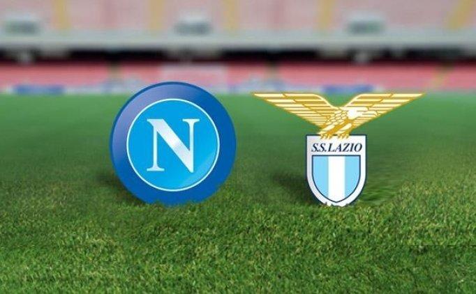 Napoli Lazio maçı CANLI hangi kanalda saat kaçta?