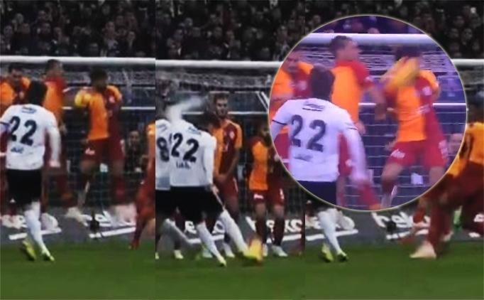 Beşiktaş 1-0 Galatasaray maçı penaltı pozisyonu , VAR görüntüsü