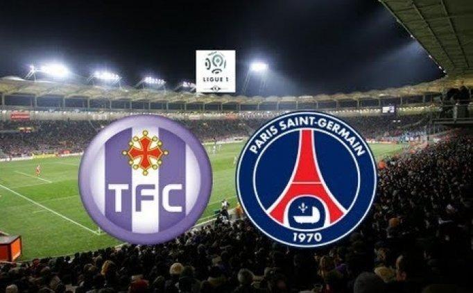 Toulouse Paris Saint-Germain(PSG) maçı CANLI hangi kanalda saat kaçta?