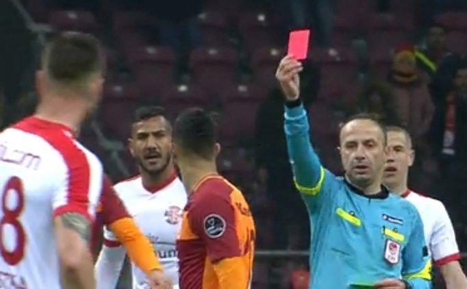 Younes Belhanda kırmızı kart gördü, Kasımpaşa maçında yok