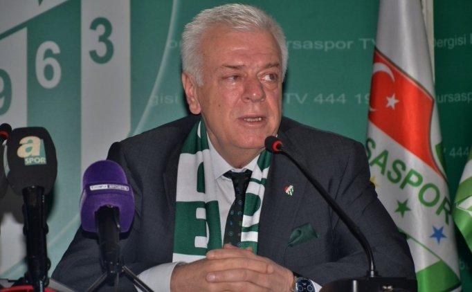 Bursaspor'dan 2018-2019 sezonu için isim talebi