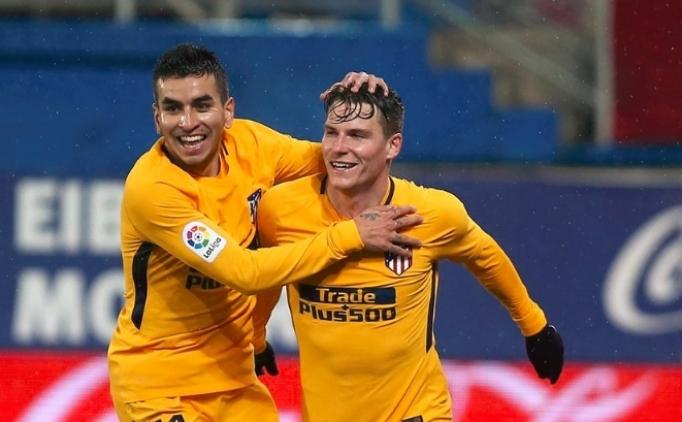 Atletico Madrid tek golle geçti