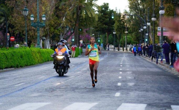 Dünya Yarı Maraton Şampiyonası'nda dünya rekoru