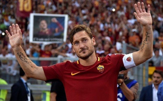 Francesco Totti: ''Benim gibisi gelmez''
