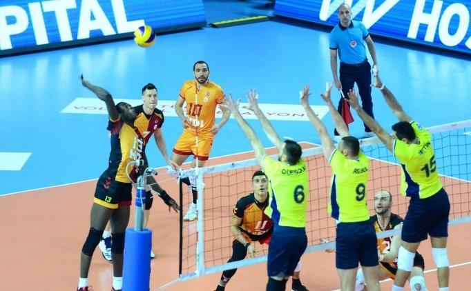 Voleybolda derbide Galatasaray, Fenerbahçe'yi mağlup etti!