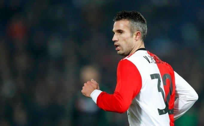 Robin van Persie, yedek takımda gol atamadı