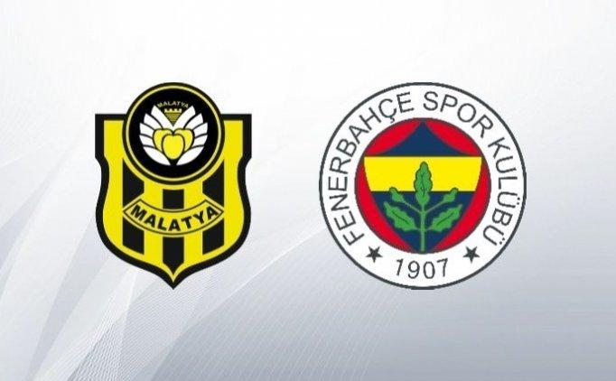 Yeni Malatyaspor Fenerbahçe maçı saat kaçta? Fenerbahçe'nin muhtemel 11'i