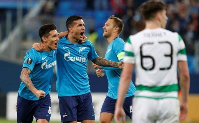 Zenit, Celtic'i rövanşta farklı geçti!