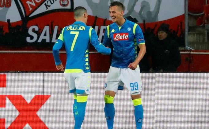 Napoli yenildi ancak tur atladı!