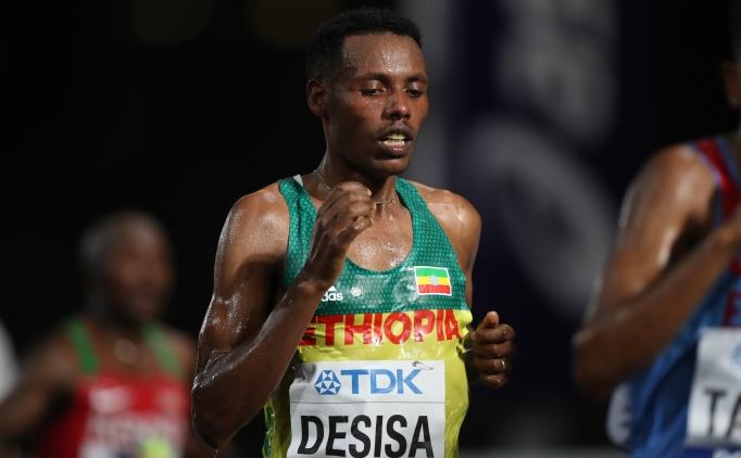 Dünya Atletizm Şampiyonası'nda maraton Desisa'nın