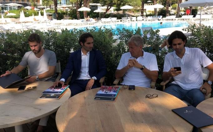 Yardımcı ve Altıntop, Monaco'da yabancı basın mensuplarıyla buluştu