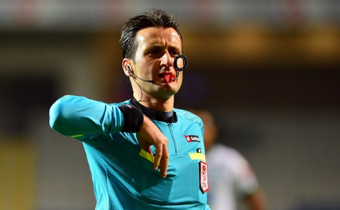 Akhisar - Galatasaray maçına hakem sürprizi