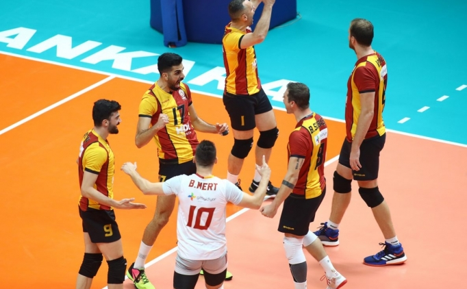 Galatasaray filede set vermedi
