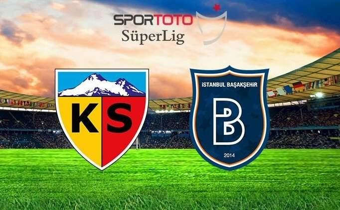 Kayserispor 1-1 Başakşehir maçı özeti izle (bein sports)
