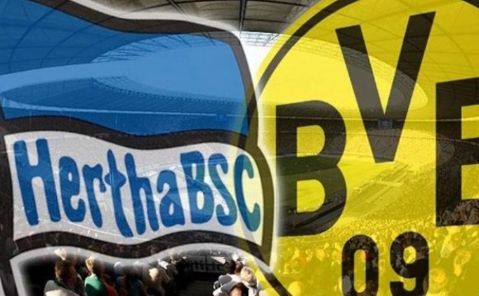 Hertha Berlin Borussia Dortmund canlı hangi kanalda? Hertha Berlin Dortmund maçı saat kaçta?