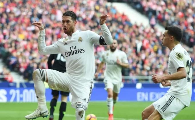 Real Madrid'in Atletico'ya '3' attığı maçın özeti