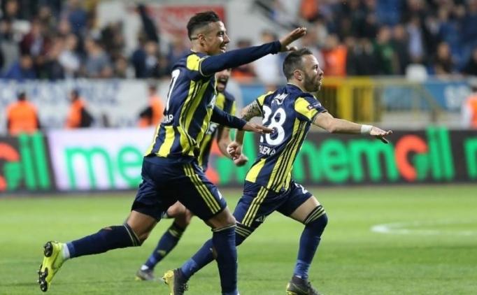 Fenerbahçe'nin Akhisar karşısındaki 11'i