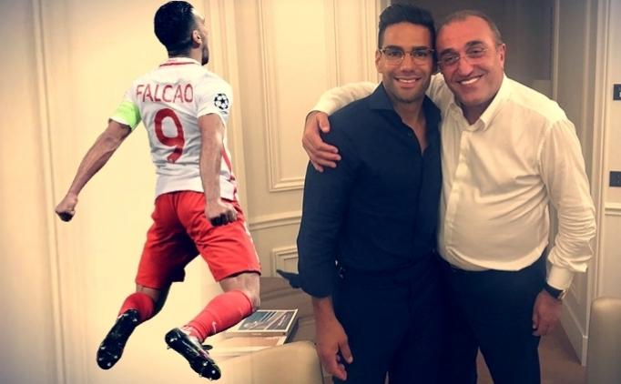 Galatasaray yönetiminden Falcao mesajı; 'Rahat olun'