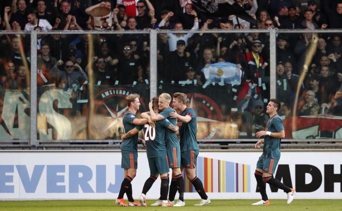 Hollanda Ligi'nde şampiyon; Ajax