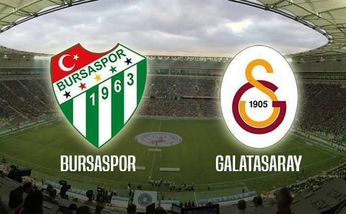 Bursa GS maçı geniş özet izle, Bursaspor Galatasaray maçı golleri
