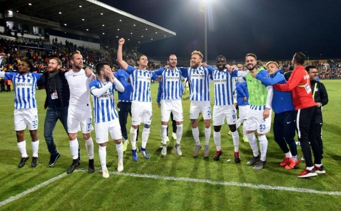 Erzurumspor'dan bu sezon ilki yaptıi umutlandı!