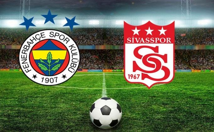 ÖZET İZLE : Fenerbahçe Sivasspor maçı golleri