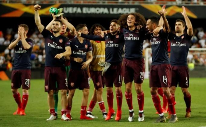 Arsenal 19 yıl sonra Avrupa Ligi finalinde!