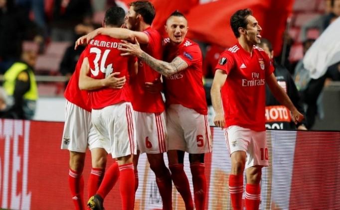 Dinamo Zagreb direndi, Benfica uzatmada turladı!