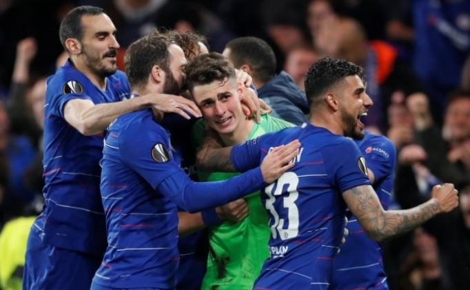 Chelsea penaltılarla Avrupa Ligi'nde finalde!