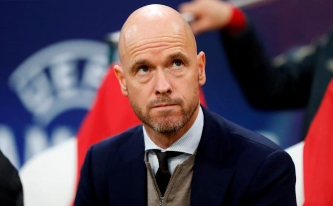 Ajax'ın hocası Erik ten Hag'tan devlere yanıt!