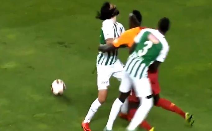 Konyaspor - Galatasaray maçında tartışmalı bir an daha